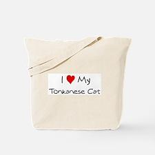 Love My Tonkanese Cat Tote Bag
