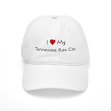 Love My Tennessee Rex Cat Baseball Cap