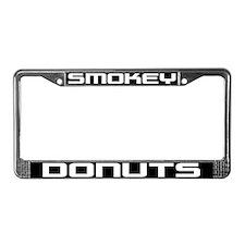 Smokey Donuts License Plate Frame