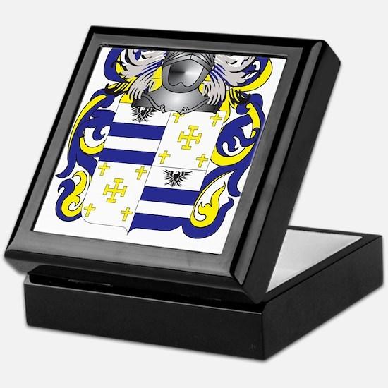 Guarino Coat of Arms (Family Crest) Keepsake Box