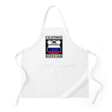 California Russian American Apron