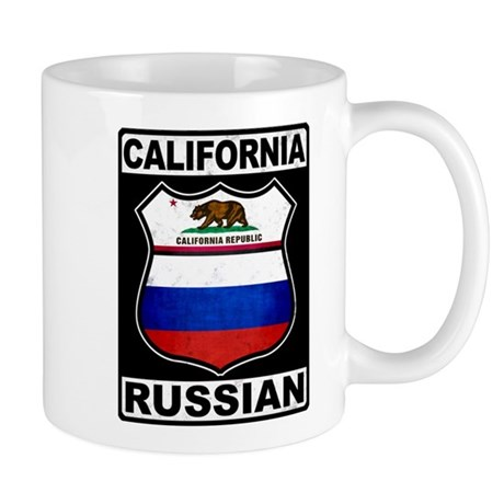 California Russian American Mug