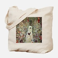 Garden Path with Chickens by Klimt Tote Bag