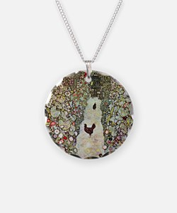 Garden Path with Chickens by Necklace