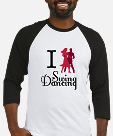 I (dance) Swing Baseball Jersey