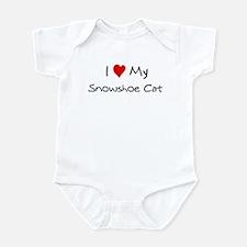 Love My Snowshoe Cat Infant Bodysuit