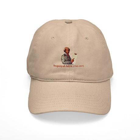 Sequoyah, The Cherokee Scholar Baseball Cap