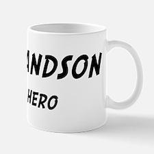 Grandson is my hero Mug