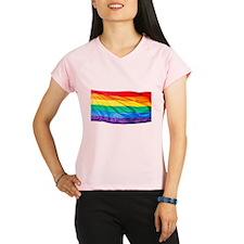 Rainbow Flag Performance Dry T-Shirt