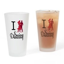 I (dance) Swing Drinking Glass