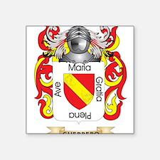 Guerrero Coat of Arms (Family Crest) Sticker