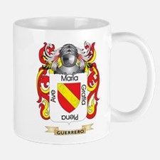 Guerrero Coat of Arms (Family Crest) Small Small Mug