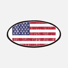 Distressed American Flag Patches