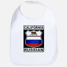 California Russian American Bib