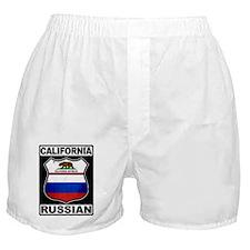 California Russian American Boxer Shorts