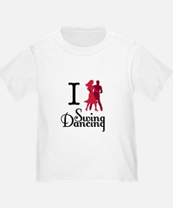 I (dance) Swing T-Shirt