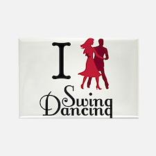 I (dance) Swing Rectangle Magnet