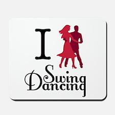 I (dance) Swing Mousepad