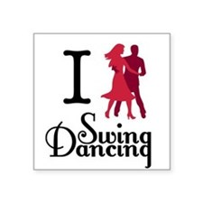 I (dance) Swing Sticker