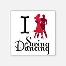 I (dance) Swing Sticker