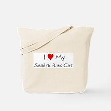 Love My Selkirk Rex Cat Tote Bag