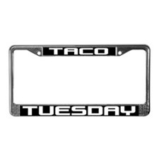 Taco Tuesday License Plate Frame