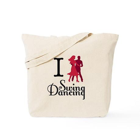 I (dance) Swing Tote Bag
