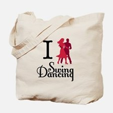I (dance) Swing Tote Bag