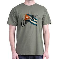 Cuba Libre Cuban Flag T-Shirt
