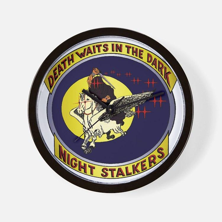 Night Stalkers Wall Clock