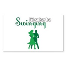 I'd Rather Be Swinging Decal