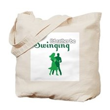 I'd Rather Be Swinging Tote Bag