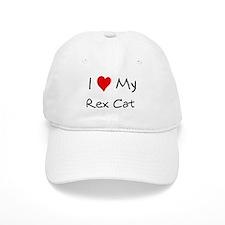 Love My Rex Cat Baseball Cap
