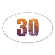 Cool 30th Birthday Decal