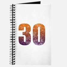 Cool 30th Birthday Journal