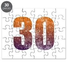 Cool 30th Birthday Puzzle