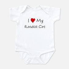 Love My Ragdoll Cat Infant Bodysuit