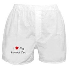 Love My Ragdoll Cat Boxer Shorts