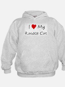 Love My Ragdoll Cat Hoodie