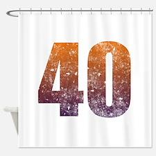 Cool Shower Curtains For Men men turning 40 shower curtains | men turning 40 fabric shower