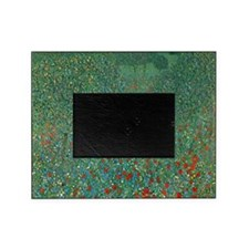 Poppy Field by Gustav Klimt Picture Frame
