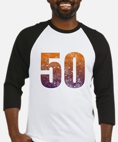 Cool 50th Birthday Baseball Jersey