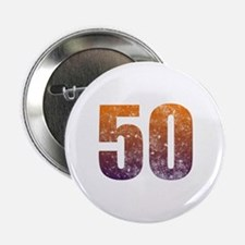 """Cool 50th Birthday 2.25"""" Button"""