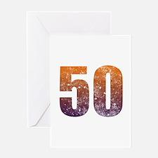 Cool 50th Birthday Greeting Card