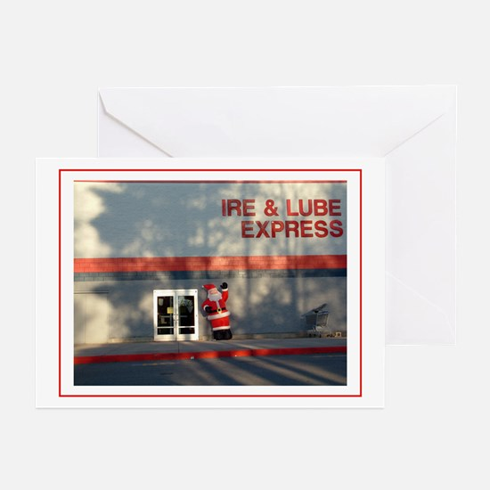 Weird christmas Greeting Cards (Pk of 10)