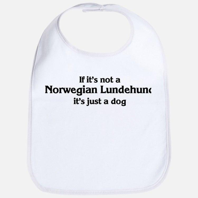 Norwegian Lundehund: If it's  Bib