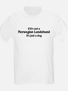 Norwegian Lundehund: If it's  Kids T-Shirt