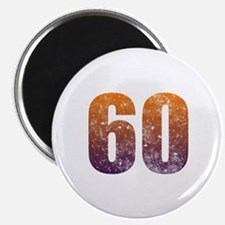 Cool 60th Birthday Magnet