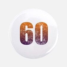 """Cool 60th Birthday 3.5"""" Button"""