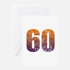 Cool 60th Birthday Greeting Card